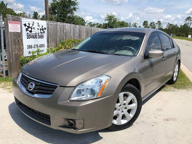 2007 Nissan Maxima For Sale At Sovauto Sales In Bunnell FL