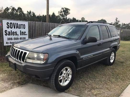 2002 Jeep Grand Cherokee For Sale At Sovauto Sales In Bunnell FL