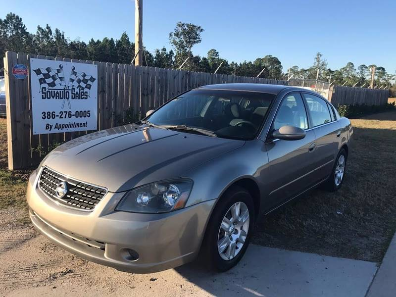 2006 nissan altima 2 5 s in bunnell fl sovauto sales. Black Bedroom Furniture Sets. Home Design Ideas