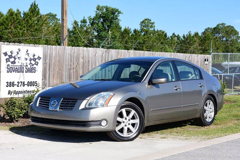 2006 Nissan Maxima For Sale At Sovauto Sales In Bunnell FL