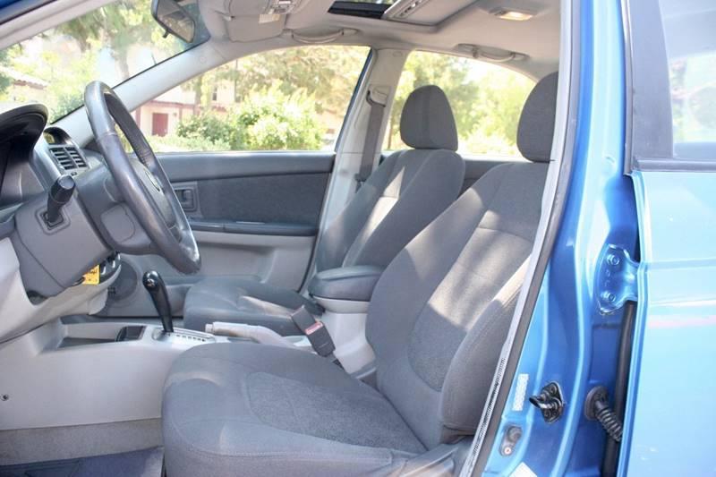 2005 Kia Spectra for sale at Gstar Motors in Temecula CA