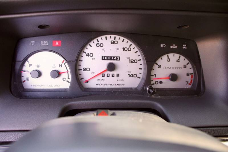 2003 Mercury Marauder for sale at Gstar Motors in Temecula CA