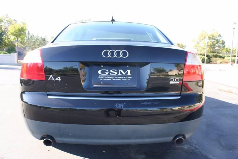 2002 Audi A4 for sale at Gstar Motors in Temecula CA