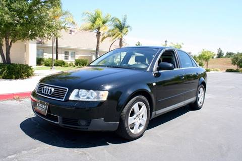 2002 Audi A4 for sale at Gstar Motors in Temecula CA