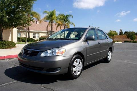 2007 Toyota Corolla for sale at Gstar Motors in Temecula CA