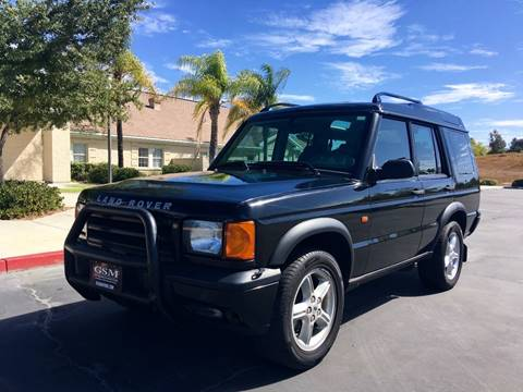 1999 Land Rover Discovery for sale at Gstar Motors in Temecula CA