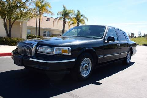 1996 Lincoln Town Car for sale in Temecula, CA
