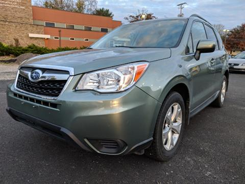 2015 Subaru Forester for sale at DILLON LAKE MOTORS LLC in Zanesville OH