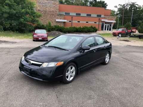 2008 Honda Civic for sale at DILLON LAKE MOTORS LLC in Zanesville OH