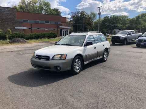 2001 Subaru Outback for sale at DILLON LAKE MOTORS LLC in Zanesville OH