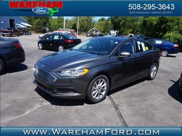 2017 Ford Fusion for sale in Wareham, MA