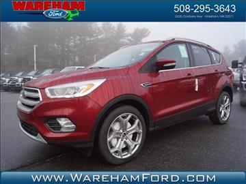 2017 Ford Escape for sale in Wareham, MA