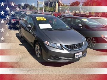 2013 Honda Civic for sale in Fresno, CA