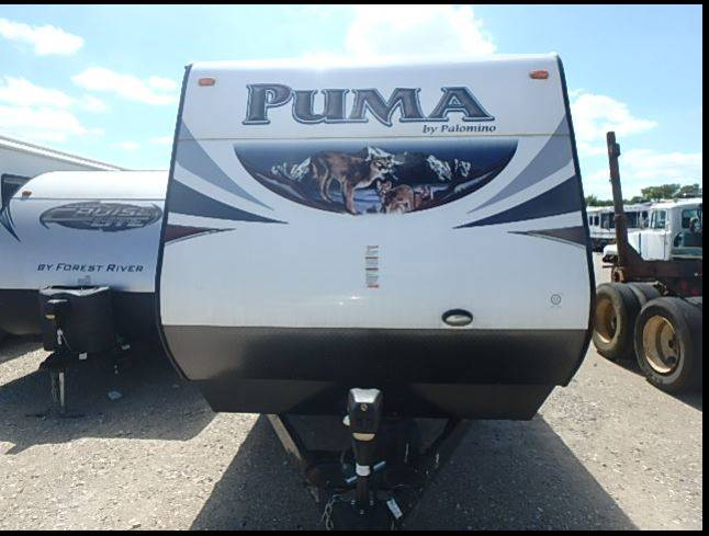 2015 Forest River Palomino Puma 31 Dbts In White