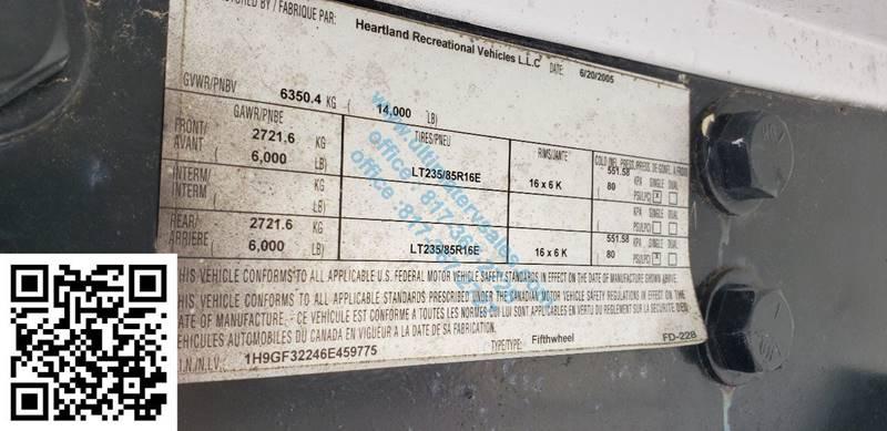 2006 Heartland Big Horn 3200rl In White Settlement Tx