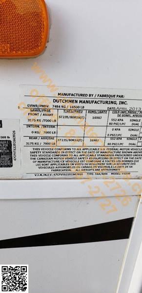 2014 Dutchmen voltage V3200  - White Settlement TX