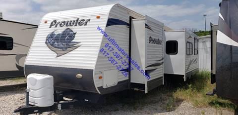2012 Palomino prowler 29RKSS  for sale in White Settlement, TX