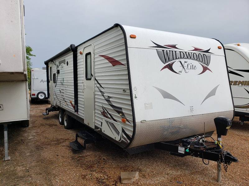 2014 Forest River Wildwood X Lite 25lrlxl In White