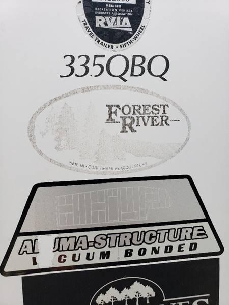 2009 Forest River Sierra 335qbq In White Settlement Tx