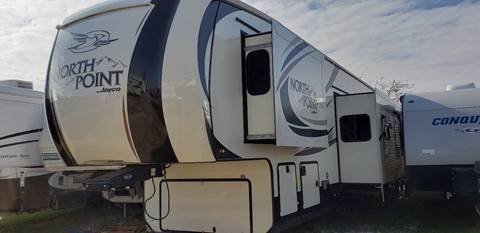 2017 Jayco North point 379DBFS for sale in White Settlement, TX