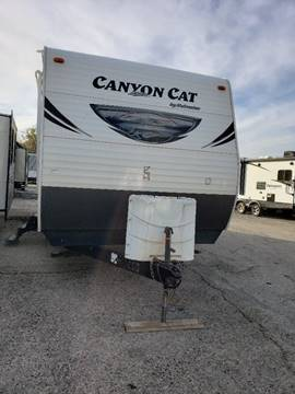 2015 Forest River Canyon Cat 27RBSC