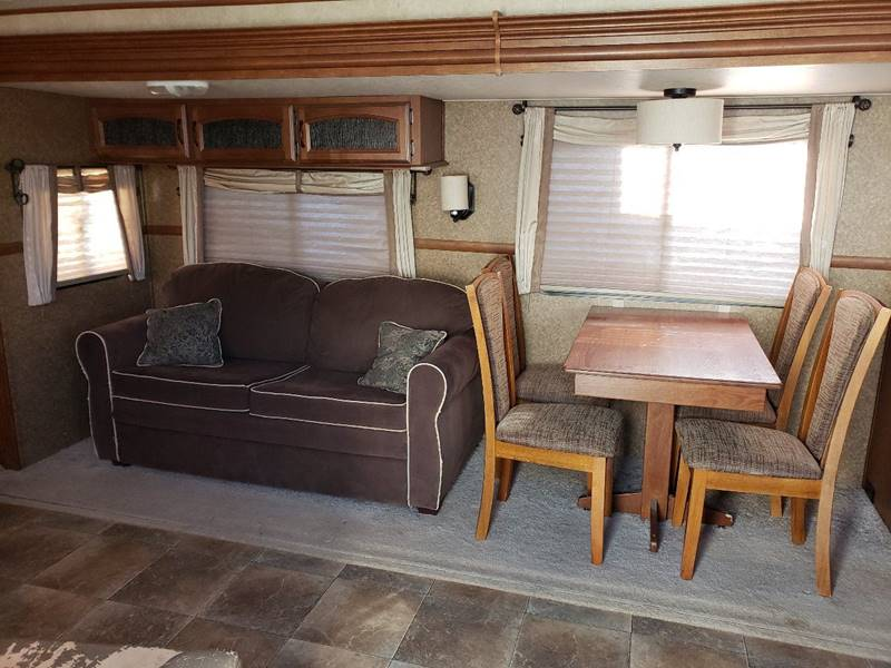 2014 Forest River Salem Hemisphere Lite 292fk In White