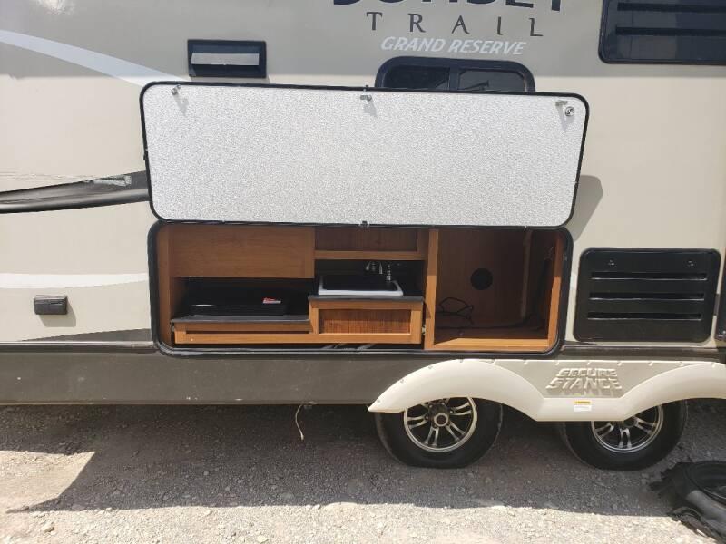 2017 grand reserve  sunset trail 33RL   - White Settlement TX