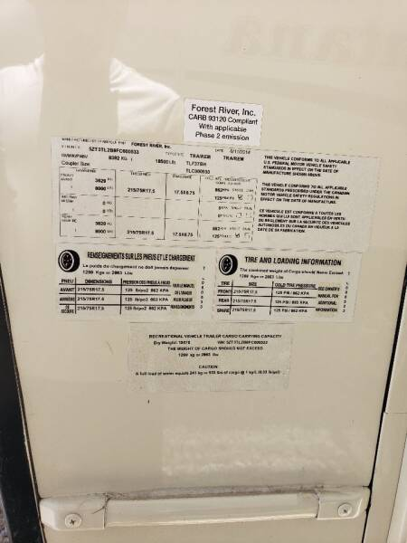 2015 Forest River Dynamax Trilogy   - White Settlement TX