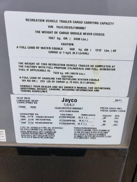 2018 Jayco seismic 4250   - White Settlement TX