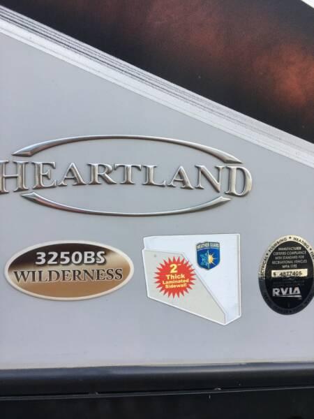 2018 Heartland Wilderness 3250bs  - White Settlement TX