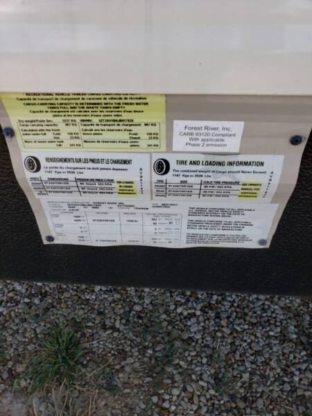 2018 Forest River Avenger 30QBS  - White Settlement TX