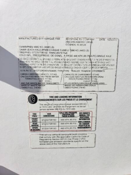 2013 Keystone cougar 32rbk   - White Settlement TX