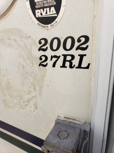 2002 Dutchmen Dutchmen 27rl  - White Settlement TX