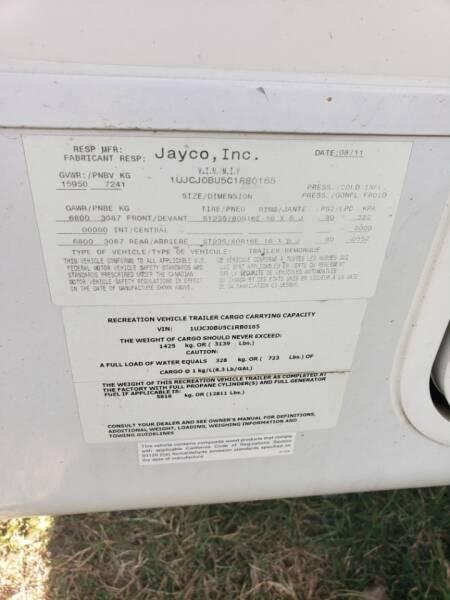 2012 Jayco Pinnacle 36reqs   - White Settlement TX