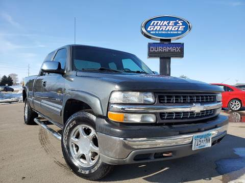 2001 Chevrolet Silverado 1500 for sale at Monkey Motors in Faribault MN