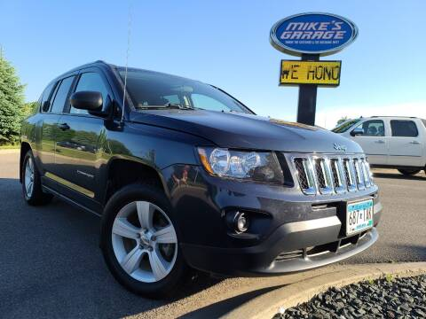2015 Jeep Compass for sale at Monkey Motors in Faribault MN