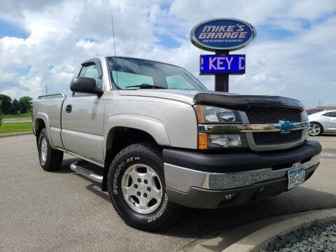 2004 Chevrolet Silverado 1500 for sale at Monkey Motors in Faribault MN