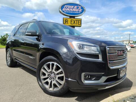2013 GMC Acadia for sale at Monkey Motors in Faribault MN