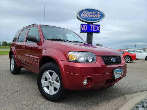 2007 Ford Escape Hybrid for sale at Monkey Motors in Faribault MN