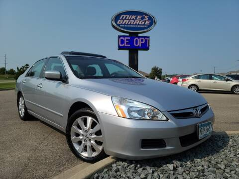 2007 Honda Accord for sale at Monkey Motors in Faribault MN