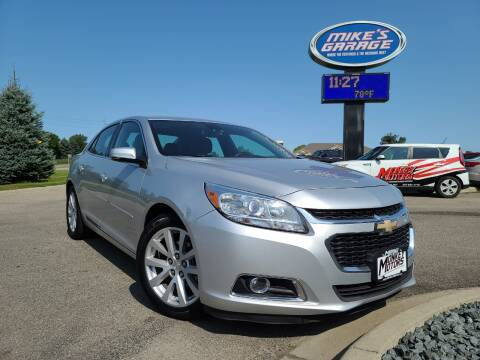 2015 Chevrolet Malibu for sale at Monkey Motors in Faribault MN
