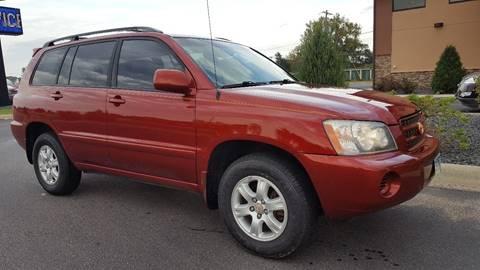 2003 Toyota Highlander for sale in Faribault, MN