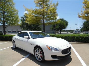 2014 Maserati Quattroporte for sale in Garland, TX