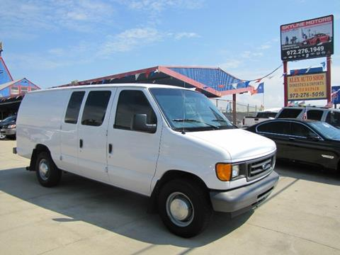 2004 Ford E-Series Cargo for sale in Garland, TX