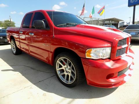 2005 dodge ram pickup 1500 srt 10 for sale in texas. Black Bedroom Furniture Sets. Home Design Ideas