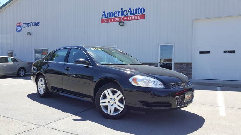 2012 Chevrolet Impala for sale at AmericAuto in Des Moines IA