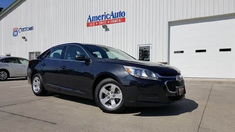 2015 Chevrolet Malibu for sale at AmericAuto in Des Moines IA