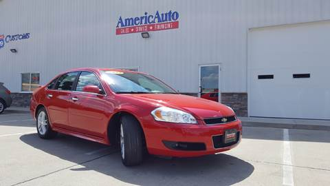 2013 Chevrolet Impala for sale at AmericAuto in Des Moines IA