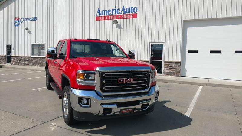 2016 GMC Sierra 2500HD for sale at AmericAuto in Des Moines IA