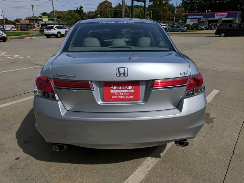 2012 Honda Accord EX-L V6 4dr Sedan - Des Moines IA